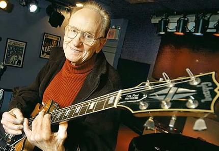 les paul, gitar, penemu, biografi