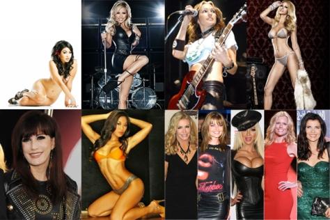 Istri-istri Hot Rockstar