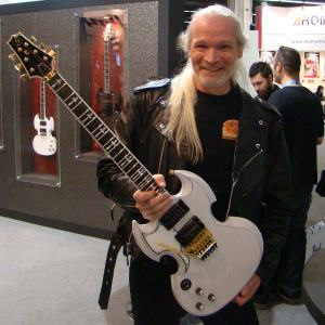 John Thomas Riboloff, JT. Riboloff with Elvira Model.
