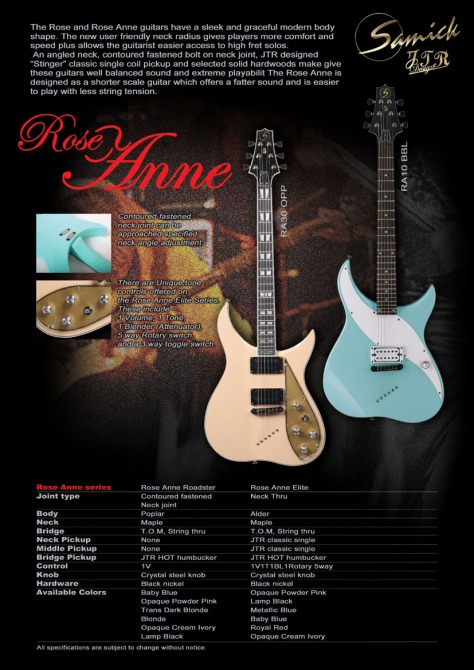 Samick JTR Series, Roseanne Model