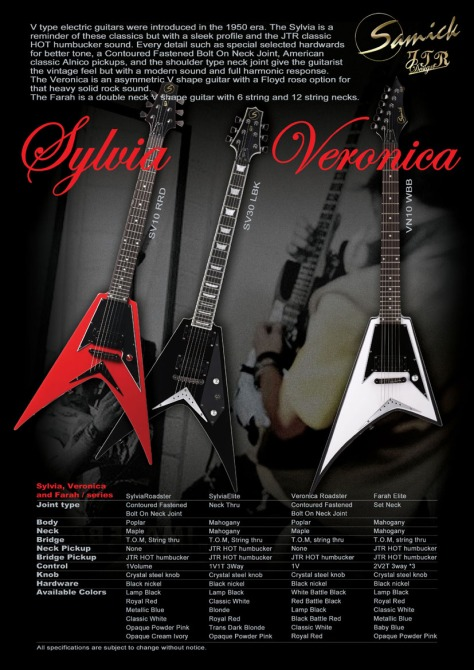 Samick JTR Series, Sylvia & Veronica Model