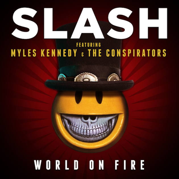 "Slash ""World on Fire"" Single Artwork"