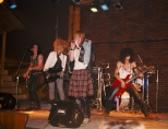 004_gnr_1985 Axl Rose, Slash, Izzy Stradlin, Duff McKagan and Steve Adler perform for the first time as Guns N' Roses on June 6, 1985 at the Troubadour in Hollywood, California.