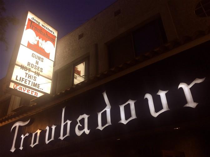 Kenapa Troubadour Dipilih Untuk Pembuka Konser Pertama Reuni Guns N Roses Tanggal 1 April 2016 ??